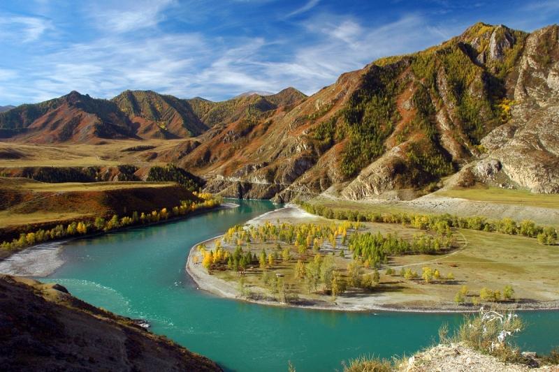 Горный Алтай. Река