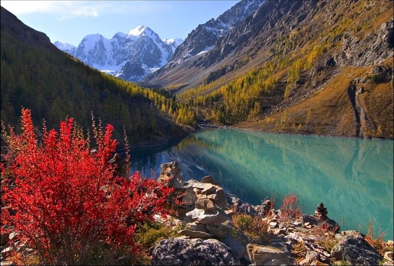 Горный Алтай. Озеро