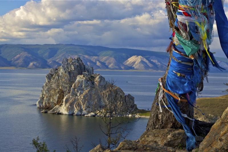 Байкал. Шаманское дерево