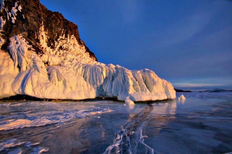 Байкал. Ледяной плен