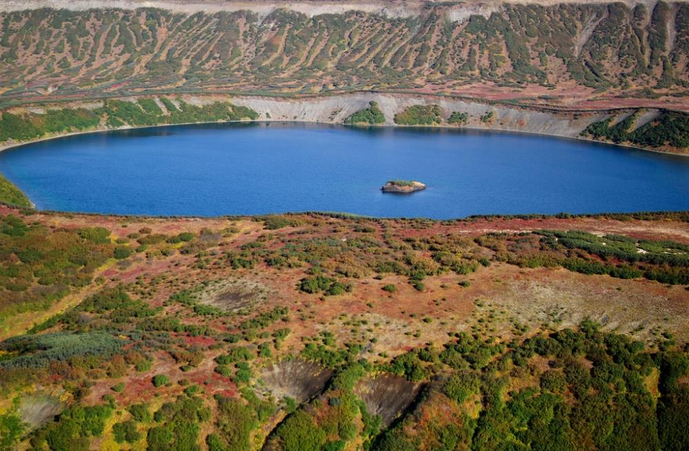 Камчатка. Озеро Дальнее. Фото Игорь Шпиленок