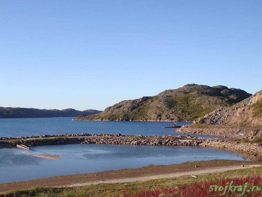 Кольский полуостров. Губа Долгая