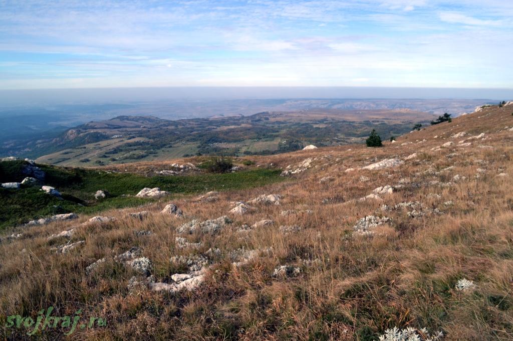 Панорама плато Чатыр-даг
