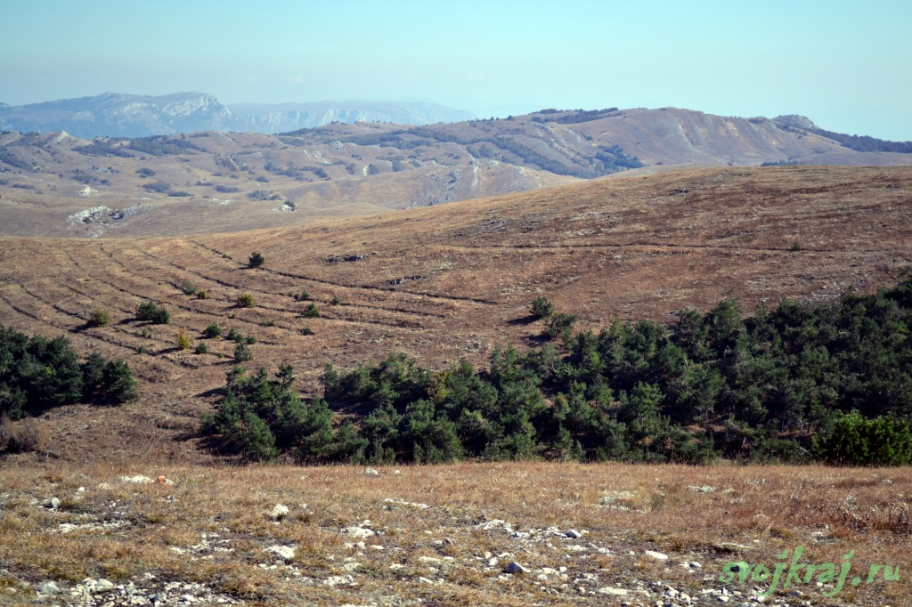 Панорама Караби-яйла