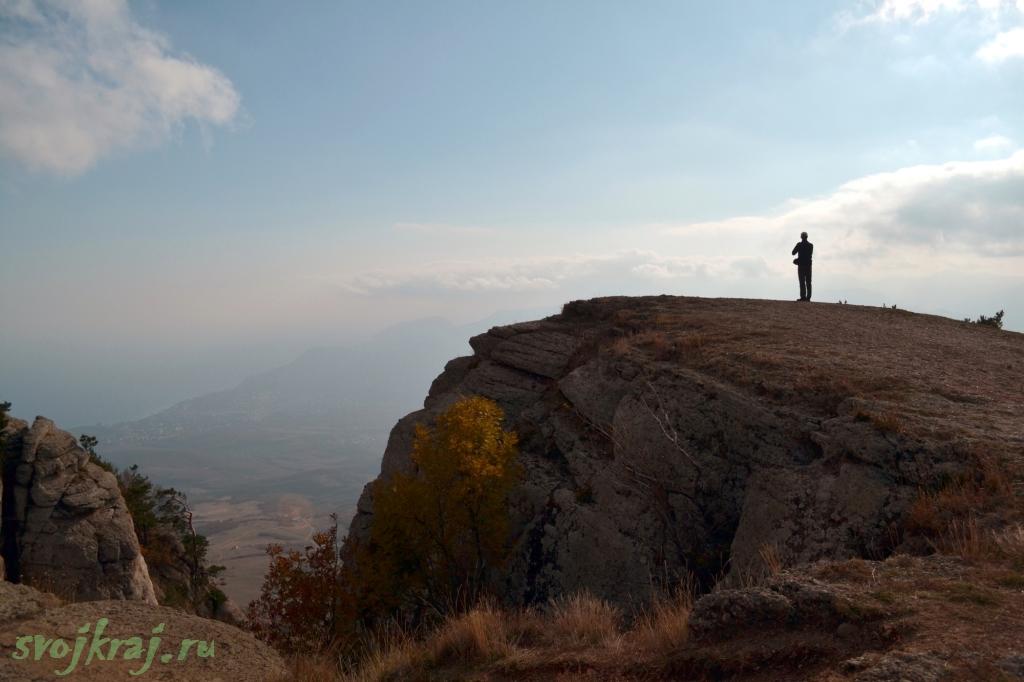 Любуемся панорамой на Алушуту