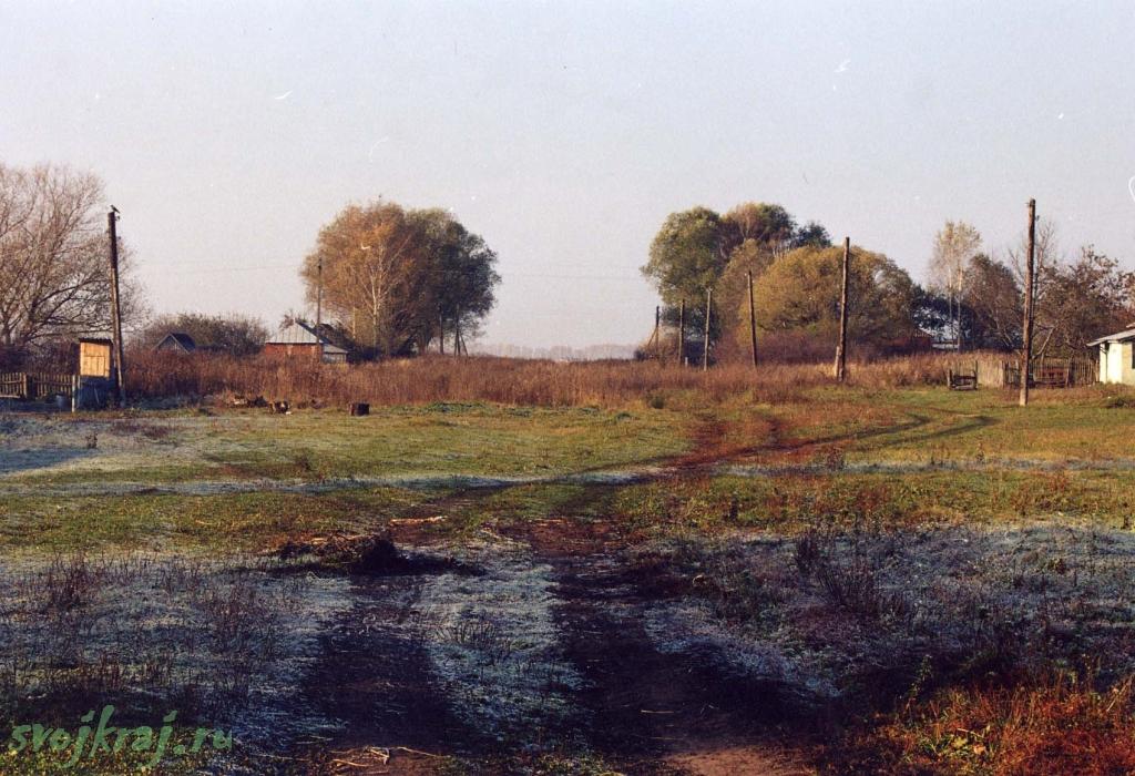 Рязанские просторы. Утро в деревне.