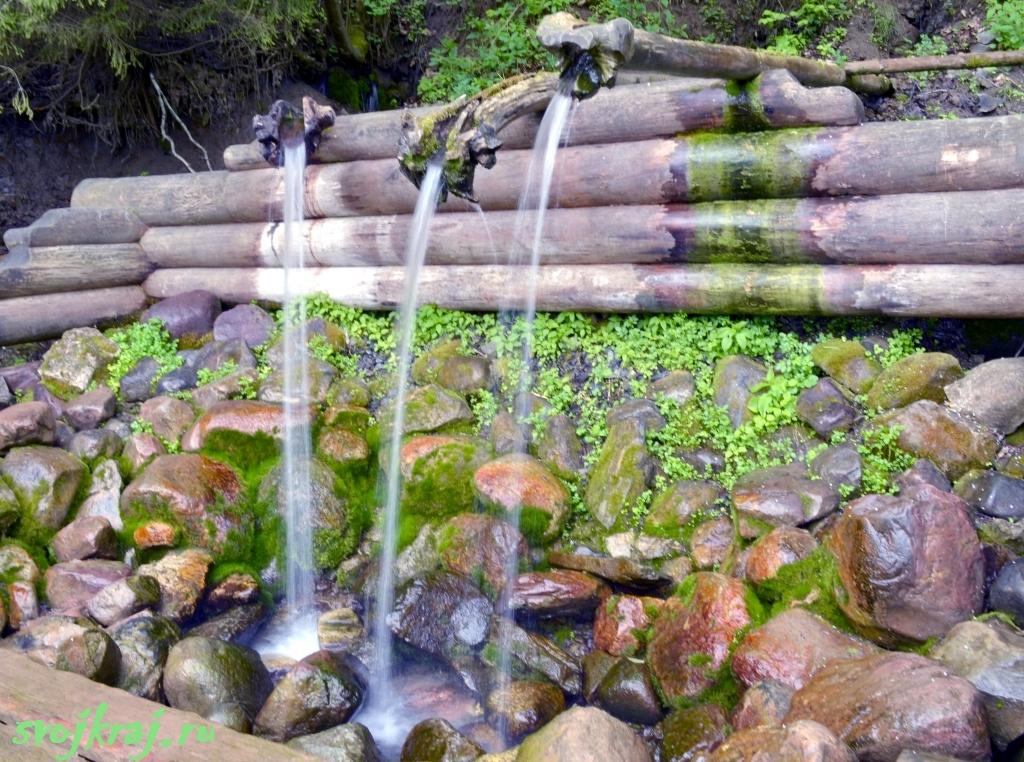 Сергиев Посад. Гремячий водопад. Источник Вера, Надежда, Любовь