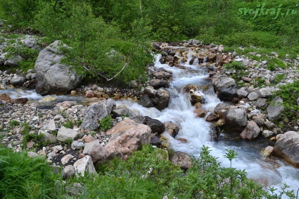 У истоков реки Белая