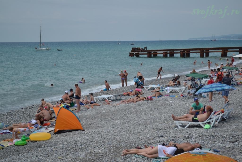 Пляжная жизнь