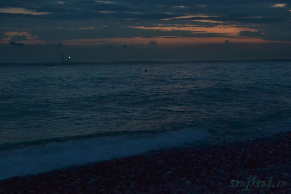 Прощание с морем перед отъездом