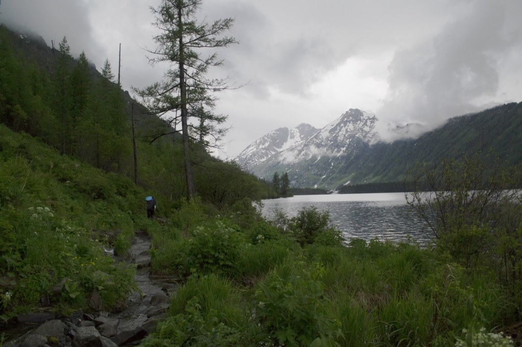 Алтай. Нижнее мультинское озеро