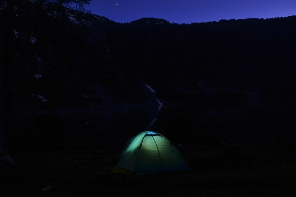 Ночь. Палатка. Звезды