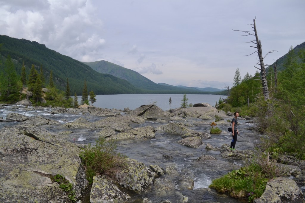 Алтай. Нижнее мультинское озеро. Шумы