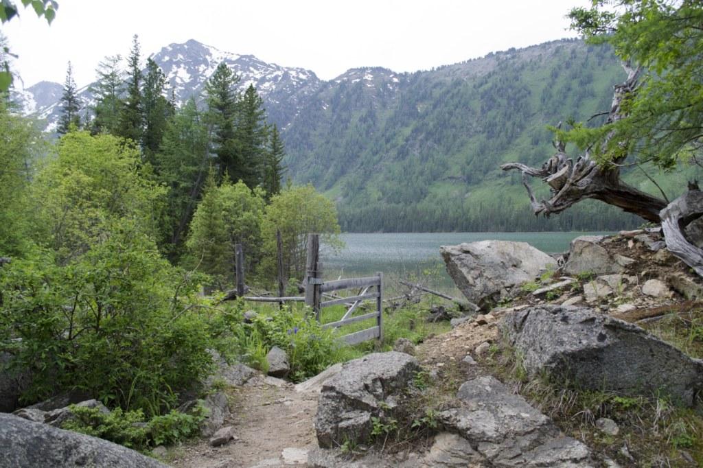 Алтай. Среднее мультинское озеро