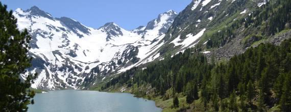 Алтай. Озеро Поперечное